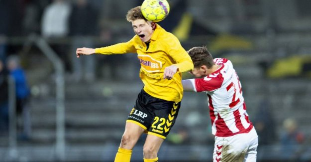 Danish hat-trick sending the club to first place in Norway