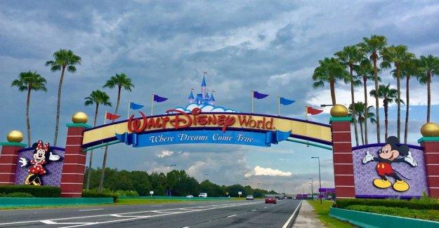 Disney World opens to the stars