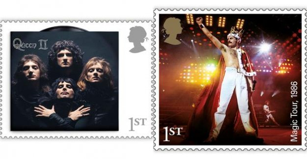 Don't post me now : Queen and Freddie Mercury soon to be sacred on the stamps in English