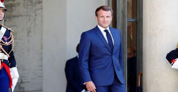 Emmanuel Macron is still debating to see the regional 2022, after the presidential