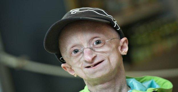 Good news for the progeria-Jesper: I'm really, really happy