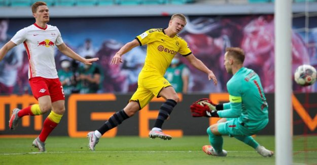 Haaland ensure Dortmund ranked second