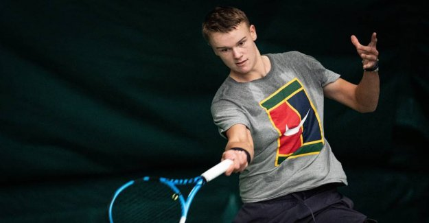 Holger Rune undefeated in the semifinals