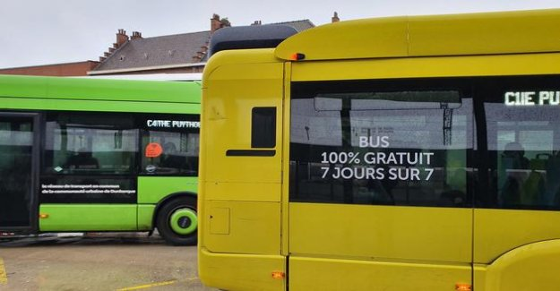 How Dunkirk has set up its bus service free of charge