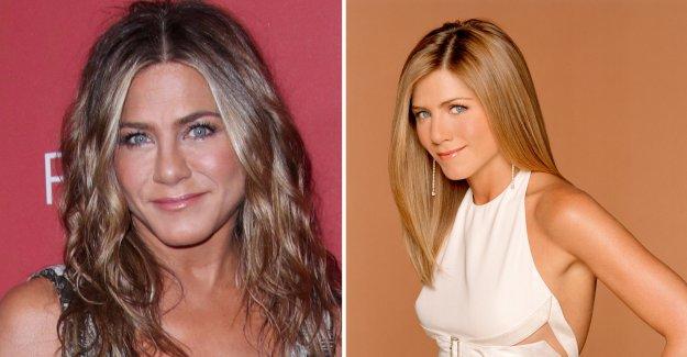 Jennifer aniston's struggle for Friends – revealing the panic