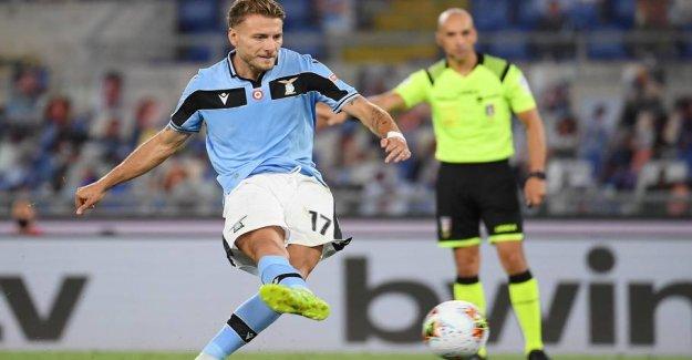 Lazio maintains pressure on Juventus
