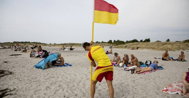 Lifeguards ready: But the end with the mouth-to-mouth
