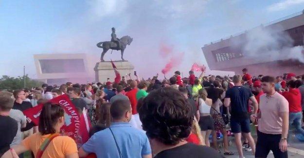 Liverpool condemns the assemblies under mesterskabsjubel
