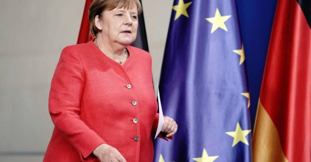Merkel fears the difficult bridge-building in budgetstrid in the EU