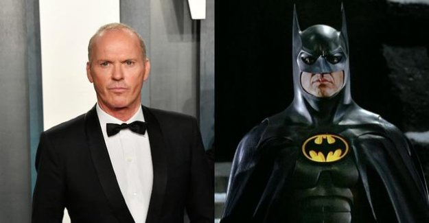 Michael Keaton back in the suit of Batman 33 years after Tim Burton