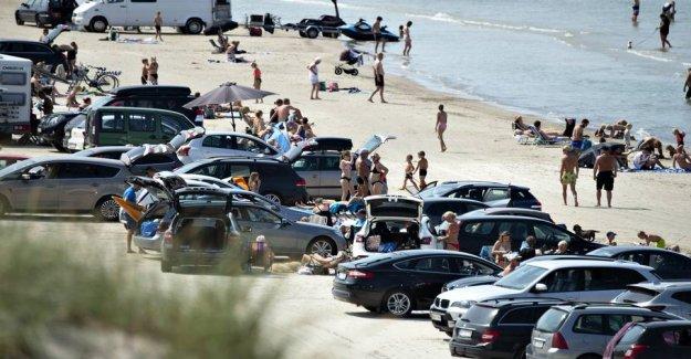 Motorists warned about the risk of close sommertrafik