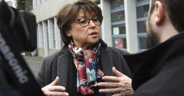 Municipal: Martine Aubry threatened to Lille, according to a survey
