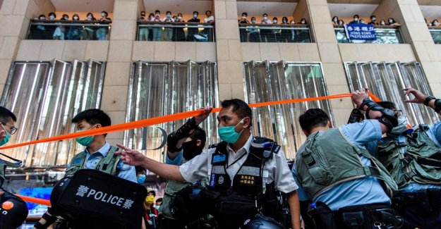 New Hong kong-the law provides severe penalties for rebellion