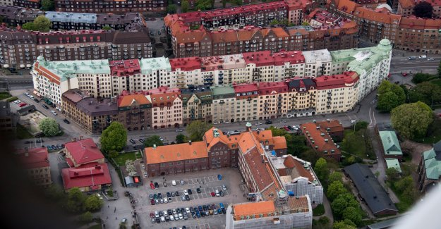 New apartment for sale at the time, in the Vasastan district of Gothenburg, sweden