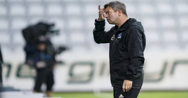 Now bring the Lyngby coach his trust to OB