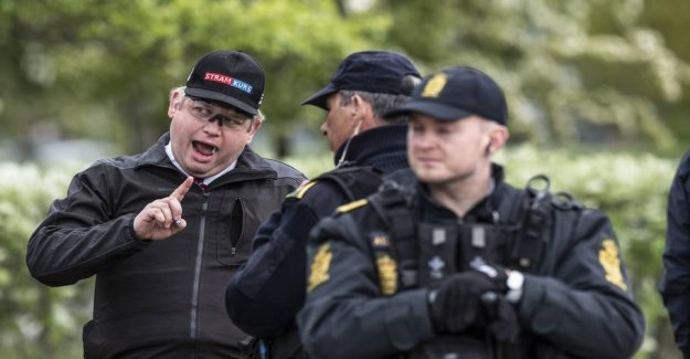 Paludan spree by the court: Would arrest the photographer