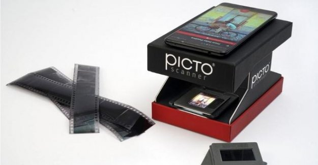 PictoScanner bringing to life the film photos forgotten
