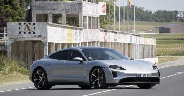 Porsche Taycan 4S, the real rival to the Tesla S