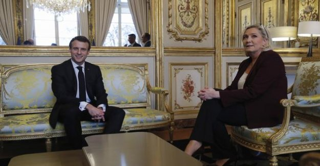 Presidential 2022 : poll gives Macron and The Pen in the second round, away to the right and Mélenchon