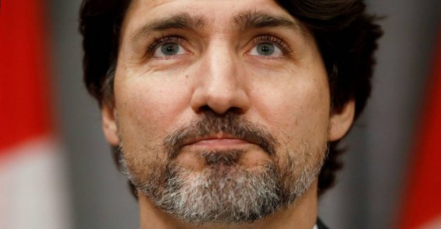 Questions about Trump got Trudeau to hesitate in 20 seconds