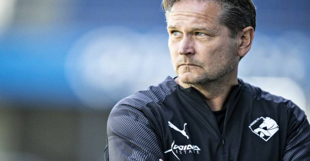 Randers-coach is bitter about to throw in the top-6 away