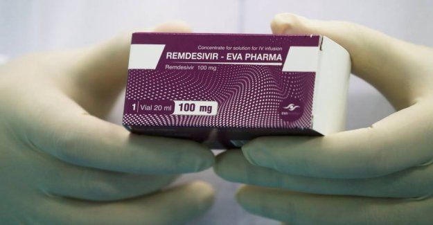 Remdesivir-treatment of coronapatienter costs 15.500 dollars