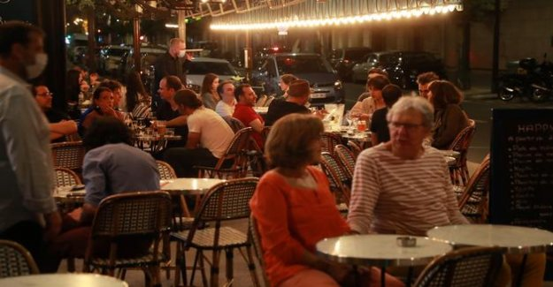 Reopening of bars: Parisians have taken advantage of the terraces at midnight