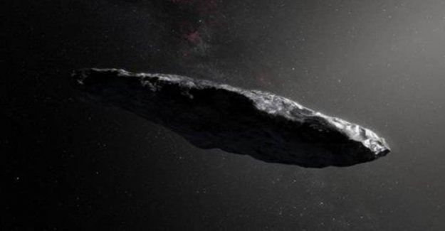 Researchers: the Cigar from the outer space is an iceberg of hydrogen