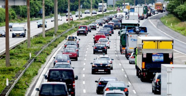 Right now: the Pressure on the roads
