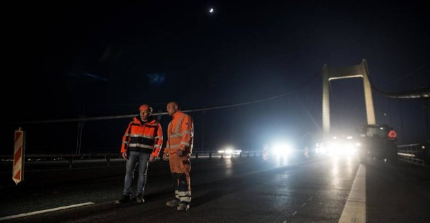 Road works are giving way to ferietrafik