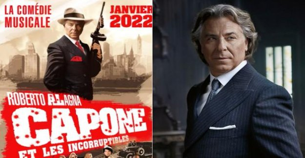 Roberto Alagna will be the gash of Al Capone in a musical