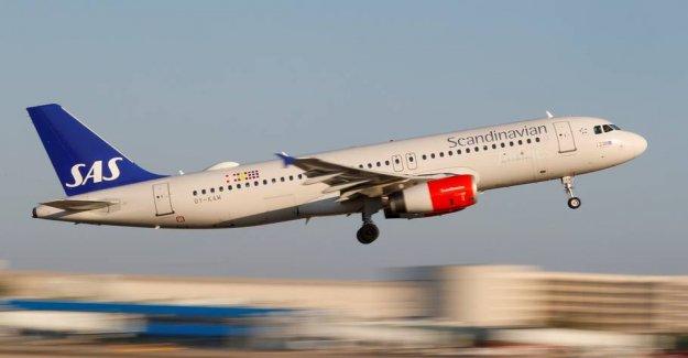 SAS re-opens the flight to a further seven destinations from Copenhagen
