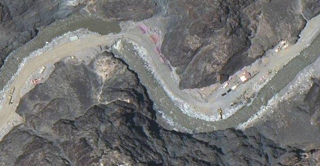 Satellite photos reveal the escalation of stormagtskonflikt