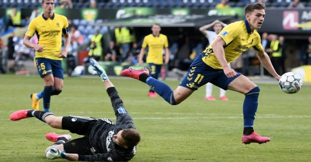 Saved Brøndby: First goal in 11 months