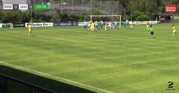 See the goals: Jammerbugt FC lived up to favoritværdigheden against Brønshøj