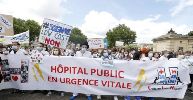 Ségur health : a meeting on the salaries of doctors is running short