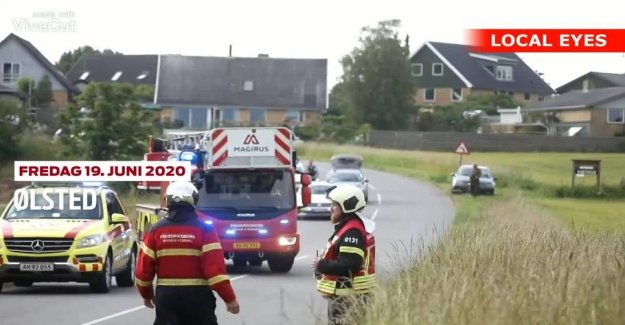 Serious accident: One killed and two seriously injured