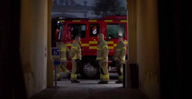 Serious pranks: Seven fires in the Danish town of
