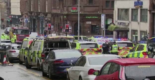 Several of the dead in the knivattack in the centre of Glasgow
