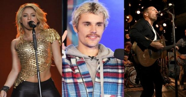 Shakira, Justin Bieber, Coldplay... A mega-concert for the search for a vaccine against the covid