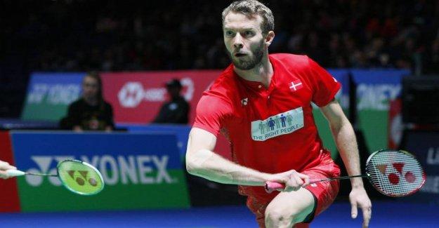 Skovshoved wins afbudsramt DM in badminton
