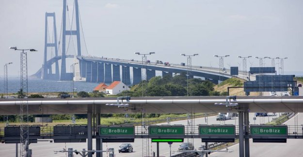 Small cars release cheaper on the great belt Bridge