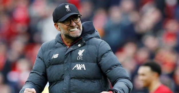 Stale pays homage to his red kampfælle Klopp