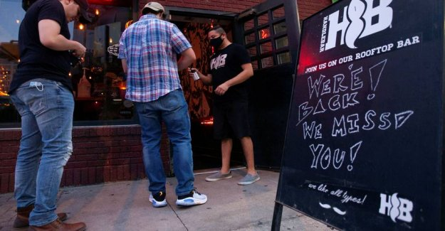 States of the united states closes again bars for increased coronasmitte