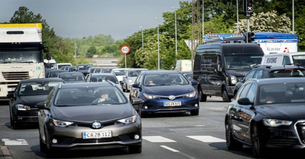 Still less traffic on the roads: This unfortunate phenomenon is, however,