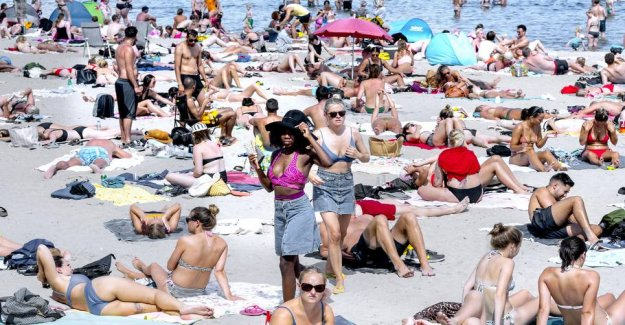 Sunny alert: heat wave hits the entire country