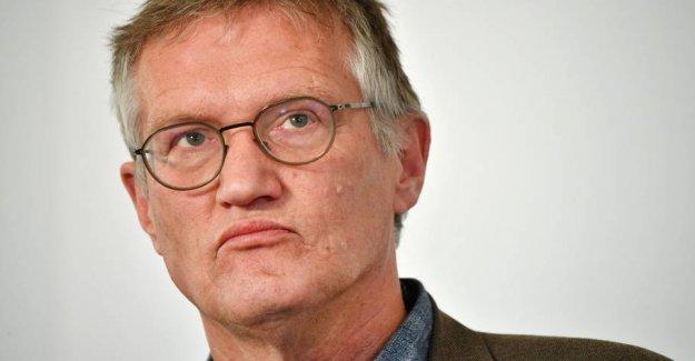 Sverigedemokraternas leader requires coronastrategs departure