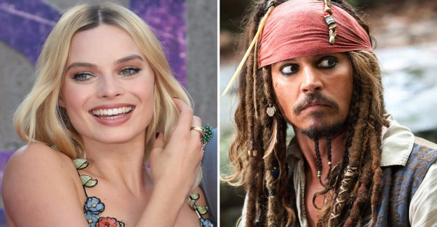 The Pirates of the Caribbean will receive the female protagonist of fans cheering the