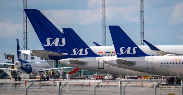 The SAS kick the 560 pilots, after coronapandemin