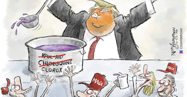 The campaign team of Donald Trump's attempts to censor a cartoonist